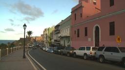 HD2008-8-14-70 San Juan old town buildings Stock Video Footage