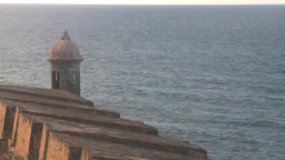 HD2008-8-14-79 San Juan old town fort Stock Video Footage