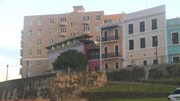 HD2008-8-15-4 San Juan old town Stock Video Footage