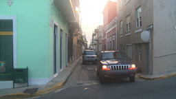 HD2008-8-15-6 San Juan old town Stock Video Footage