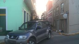 HD2008-8-15-6 San Juan old town Stock Video Footage