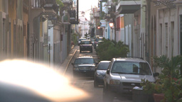 HD2008-8-15-7 San Juan old town Stock Video Footage