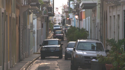 HD2008-8-15-7 San Juan old town Stock Video Footage