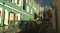HD2008-8-15-15 StThomas old town Stock Video Footage