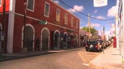 HD2008-8-15-17 StThomas old town Stock Video Footage