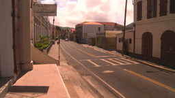 HD2008-8-15-19 StThomas old town traffic Stock Video Footage