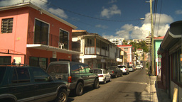 HD2008-8-15-25 StThomas old town Stock Video Footage