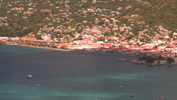 HD2008-8-15-59 StThomas harbor Stock Video Footage
