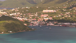 HD2008-8-15-63 StThomas harbor Stock Video Footage