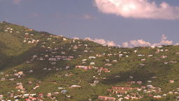 HD2008-8-15-65 StThomas hillside Stock Video Footage