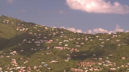 HD2008-8-15-65 StThomas hillside Stock Video Footage