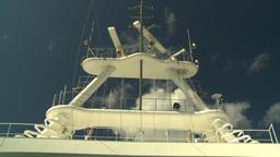 HD2008-8-17-1 ship radar Stock Video Footage