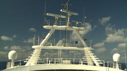HD2008-8-17-5 ship radar Stock Video Footage