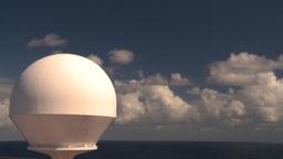HD2008-8-17-9 radar dome Stock Video Footage