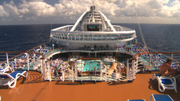HD2008-8-17-11 cruise ship Stock Video Footage