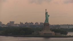 HD2008-8-17-39 statue liberty Stock Video Footage