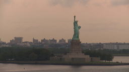 HD2008-8-17-39 statue liberty Footage