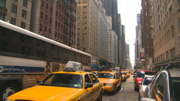 HD2008-8-17-45 NYC txi cabs Footage
