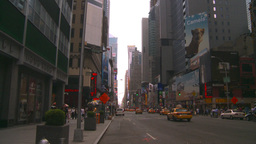 HD2008-8-17-51 NYC traffic Manhattan Stock Video Footage