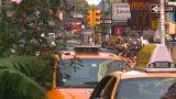 HD2008-8-18-5 NYC Traffic stock footage