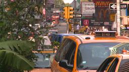 HD2008-8-18-5 NYC traffic Stock Video Footage