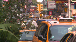 HD2008-8-18-5 NYC traffic Stock Video Footage