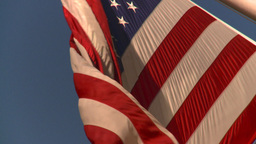 HD2008-8-18-13 NYC flags Stock Video Footage