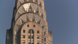 HD2008-8-18-16 NYC chrysler bdg 2 shot Stock Video Footage