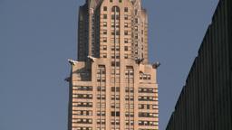 HD2008-8-18-18 NYC chrysler bdg Z Stock Video Footage