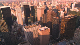HD2008-8-18-32 NYC from 30 rock Stock Video Footage