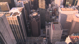 HD2008-8-18-34 NYC from 30 rock Stock Video Footage