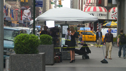HD2008-8-19-1 TV news crew Times square Footage