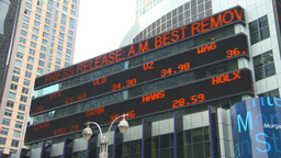 HD2008-8-19-9 TL stock ticker Times square Footage
