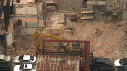 HD2008-8-19-19 const siteaerial Stock Video Footage