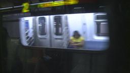 HD2008-8-19-29 NYC subway Stock Video Footage