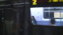 HD2008-8-19-29 NYC subway Stock Video Footage