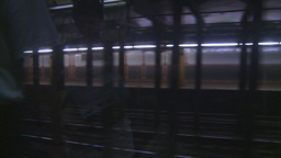 HD2008-8-19-31 NYC subway Stock Video Footage