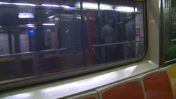 HD2008-8-19-35 NYC subway Stock Video Footage