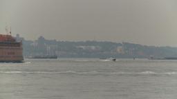 HD2008-8-19-37 STaten island ferry Stock Video Footage