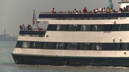 HD2008-8-19-43 ferry boat Stock Video Footage