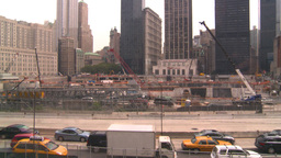 HD2008-8-19-47 WTC construction site Stock Video Footage