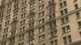 HD2008-8-19-55 NYC Bdgs stock footage