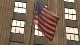 HD2008-8-19-59 US flag Stock Video Footage