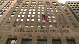 NYC stock exchange Stock Video Footage