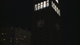 night building Footage