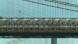 NYC bridge Stock Video Footage