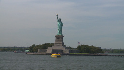 NYC statue of liberty Stock Video Footage