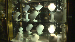 Empty mannequin heads Stock Video Footage