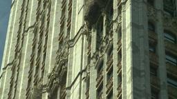 NYC skyscraper gothic arch Footage
