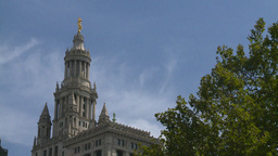 New York City Hall Stock Video Footage